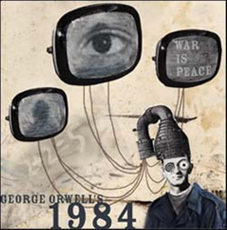 an analysis of the humans in 1984 by george orwell Free monkeynotes study guide summary- 1984 by george orwell-plot structure analysis-free online book notes summary chapter synopsis plot notes essay themes study guide downloadable notes.